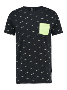 Kultivate T-shirt TS CURSIVE 1901030211 319 Dark Navy