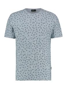 Kultivate T-shirt TS BIG TRIGON 1901030215 331 Blue Fog Melange