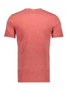 onspovel reg fit  raw edge eq  4249 22014249 jack & jones t-shirt cinnabar