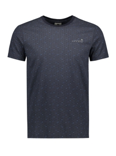 Garcia T-shirt T SHIRT MET ALL OVER PRINT G91010 292 Dark Moon