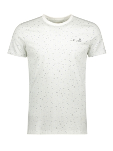 Garcia T-shirt T SHIRT MET ALL OVER PRINT G91010 53 Off White