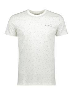 Garcia T-shirt T SHIRT MET ALL OVER PRINT G91010 53 Off White