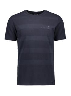 Garcia T-shirt T SHIRT MET RELIEF G91011 292 Dark Moon