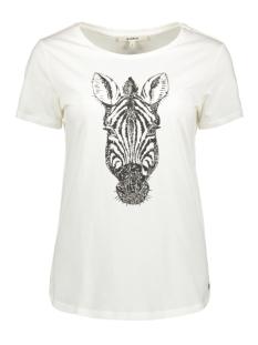 Garcia T-shirt T SHIRT MET OPDRUK G90002 53 OFF WHITE