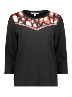 Garcia T-shirt T SHIRT MET DRIE KWART MOUWEN G90015 60 BLACK