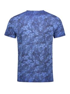 t shirt met all over print g91008 garcia t-shirt 2284 maritime blue