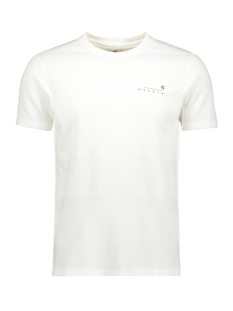 Garcia T-shirt T SHIRT MET RELIEF G91011 53 Off White