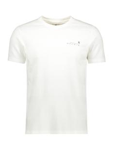 Garcia T-shirt T SHIRT MET RELIEF G91011 53 Off White