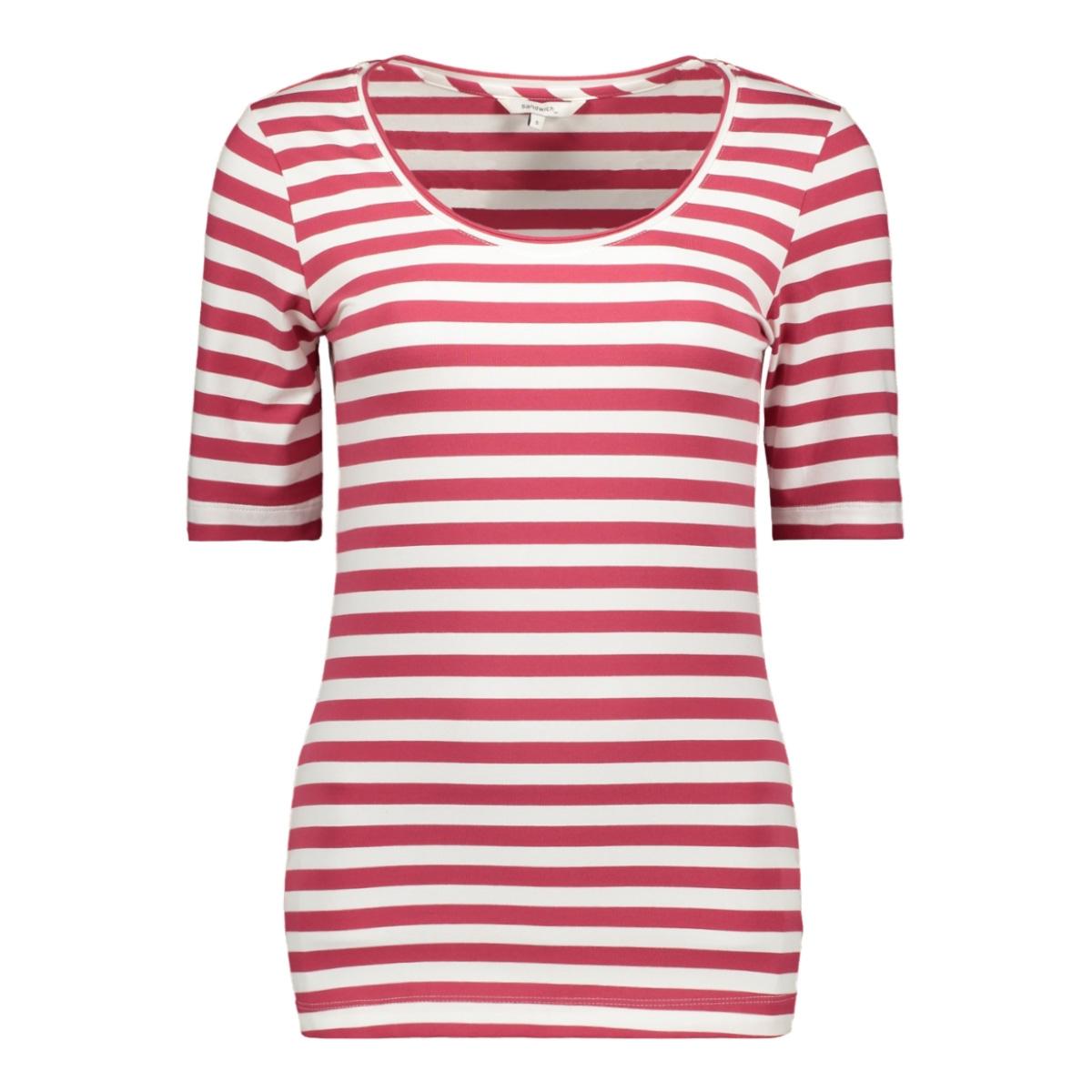 t shirt met streep design 21101479 sandwich t-shirt 20160