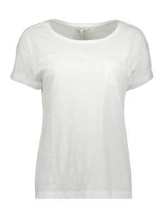 Sandwich T-shirt T SHIRT MET BORSTZAK 21101708 10058