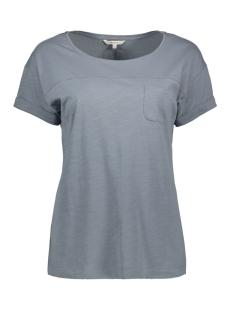 Sandwich T-shirt T SHIRT MET BORSTZAK 21101708 40099