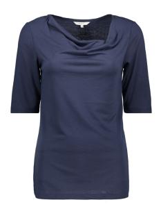 Sandwich T-shirt T SHIRT MET WATERVAL HALS 21101707 40096