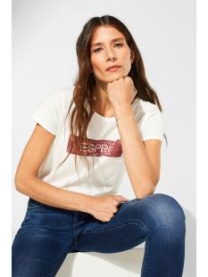 shirt met logo 089ee1k035 esprit t-shirt e110