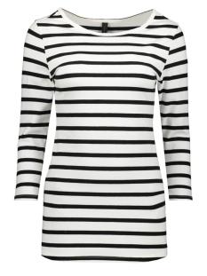 10 Days T-shirt SLIM FIT BOAT 20 780 9900 SOFT WHITE/BLACK