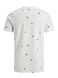jordely tee ss crew neck 12158030 jack & jones t-shirt cloud dancer/slim fit