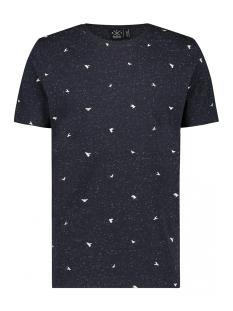 Kultivate T-shirt TS PIGEONS 1901030210 302 Navy Melange