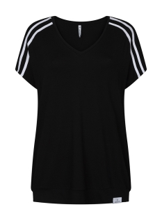 Zoso T-shirt BOWIE STRIPED TOP 193 BLACK/WHITE