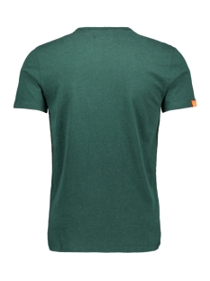 ol vintage embroidery vee tee m1000021a superdry t-shirt buck green marl