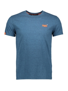 ol vintage embroidery tee m1000020a superdry t-shirt glacier blue feeder