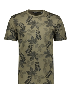 onsangus ss aop tee vd 22013657 only & sons t-shirt olive night