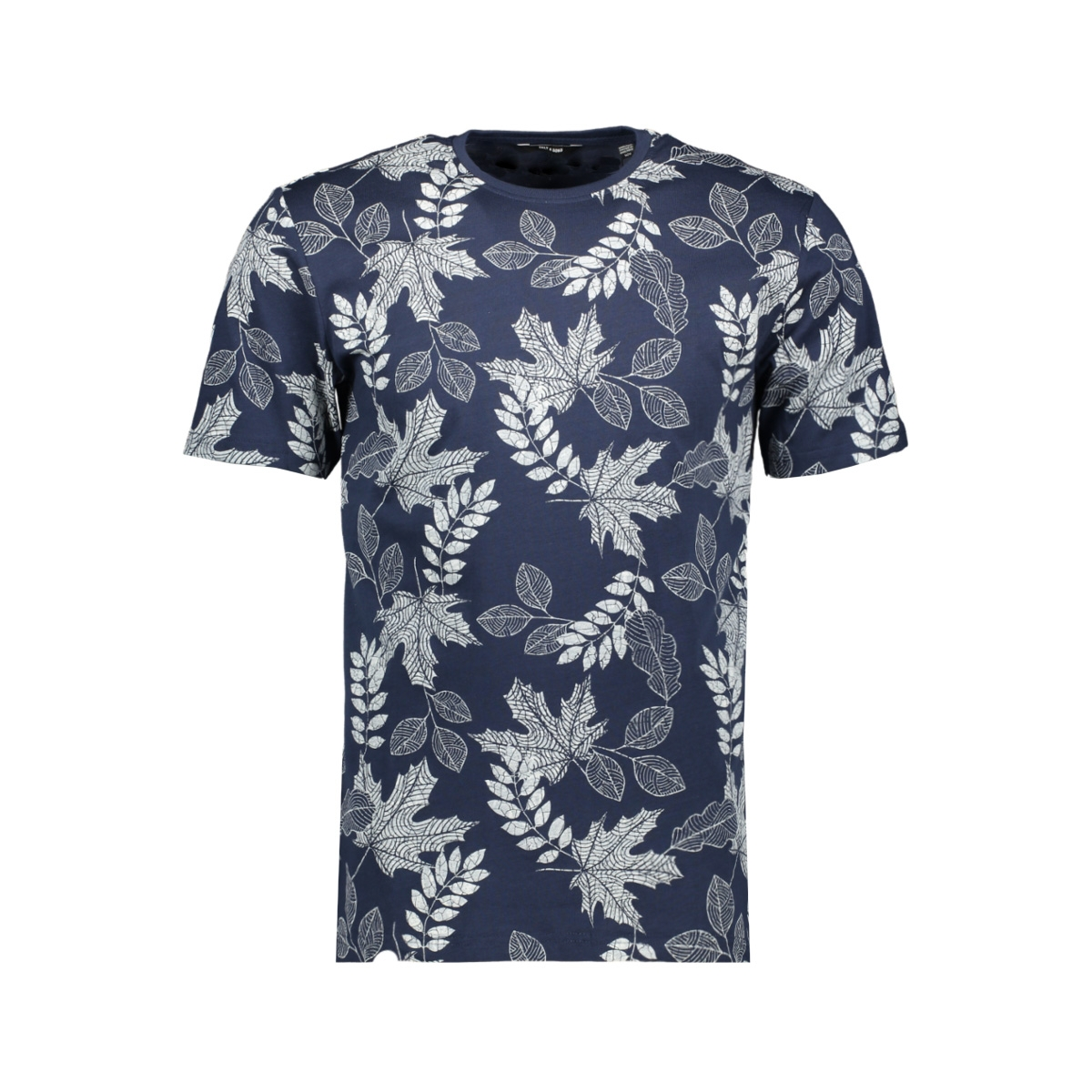 onsangus ss aop tee vd 22013657 only & sons t-shirt dress blues