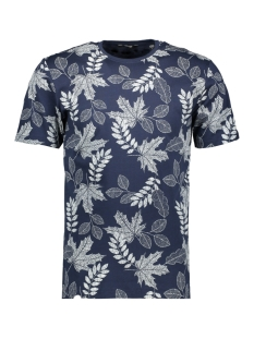 Only & Sons T-shirt onsANGUS SS AOP TEE VD 22013657 Dress Blues