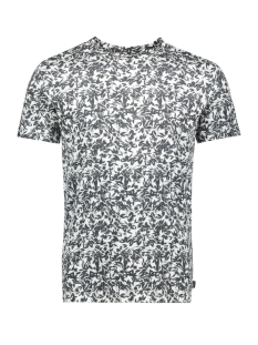 Jack & Jones T-shirt JPRFLOWER BLA. TEE SS CREW NECK 12158942 Whtie/SLIM FIT
