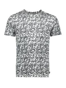 jprflower bla. tee ss crew neck 12158942 jack & jones t-shirt whtie/slim fit