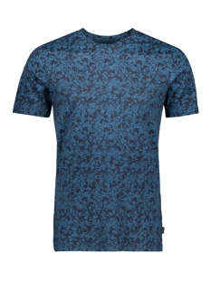 Jack & Jones T-shirt JPRFLOWER BLA. TEE SS CREW NECK 12158942 Navy Blazer/SLIM FIT