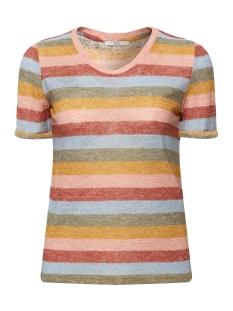 EDC T-shirt GEBREID SHIRT MET STREPEN 089CC1K002 C805