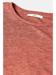t shirt met gerimpelde mouwen 089cc1k007 edc t-shirt c809