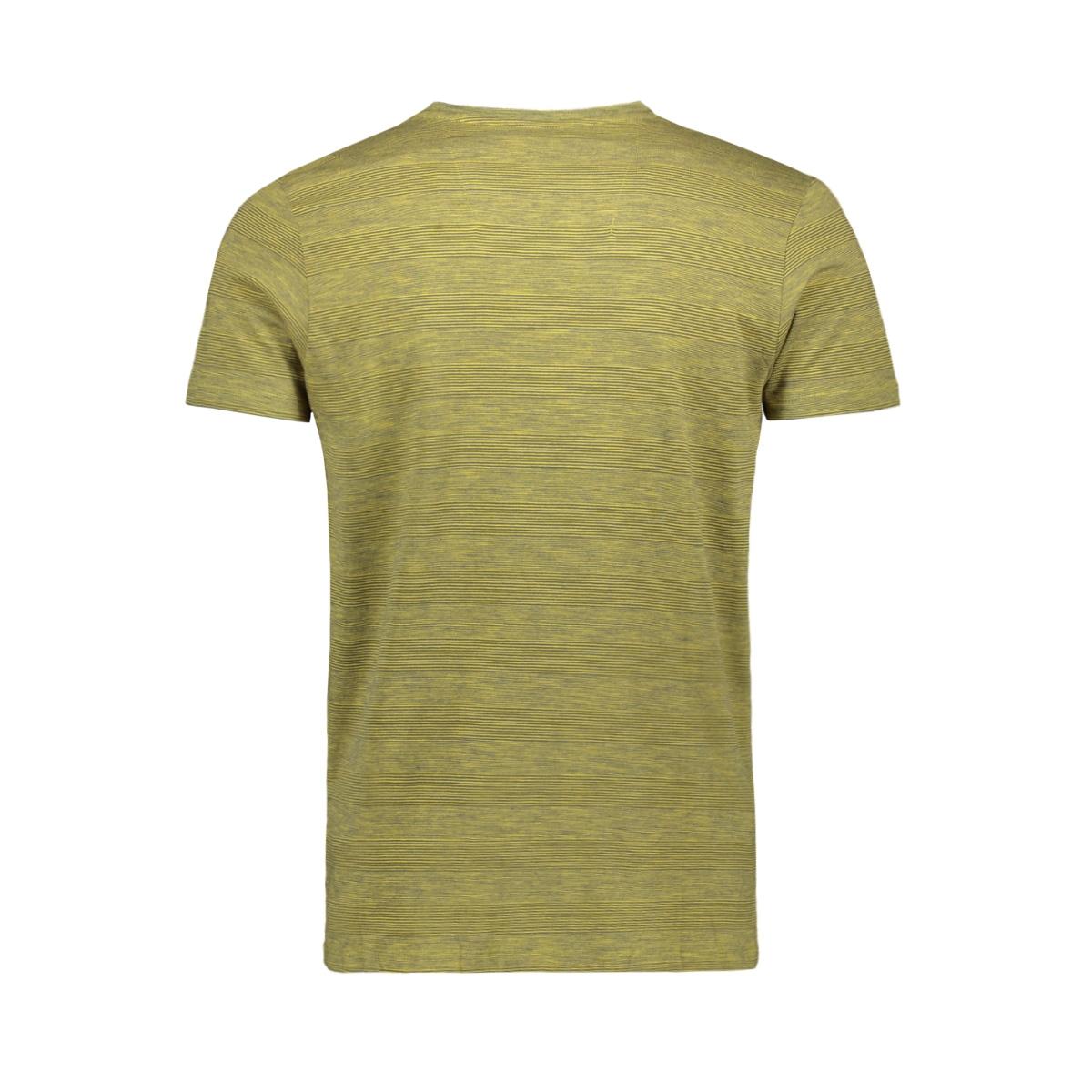 t shirt met borstzakje gs910700 garcia t-shirt 2911 golden olive
