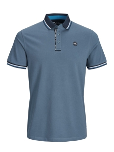 Jack & Jones Polo JCOCHALLENGE POLO SS NOOS 12145116 China Blue/REG