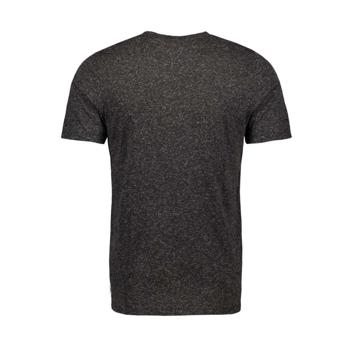 jcosimon tee ss cn 12155026 jack & jones t-shirt black/slim