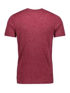 jcosimon tee ss cn 12155026 jack & jones t-shirt rhododendron/slim