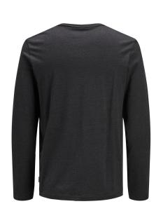 jcoaustini tee ls crew neck 12157989 jack & jones t-shirt black/slim