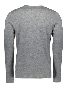 jcoaustini tee ls crew neck 12157989 jack & jones t-shirt light grey mela/slim