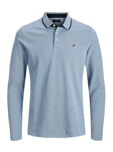 Jack & Jones Polo JPRPAULOS PLAY BLU. POLO LS 12159017 Bright Cobalt/MIXED WITH