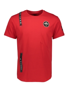 13861 gabbiano t-shirt red
