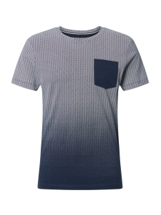 t shirt met borstzak 1013299xx12 tom tailor t-shirt 10915