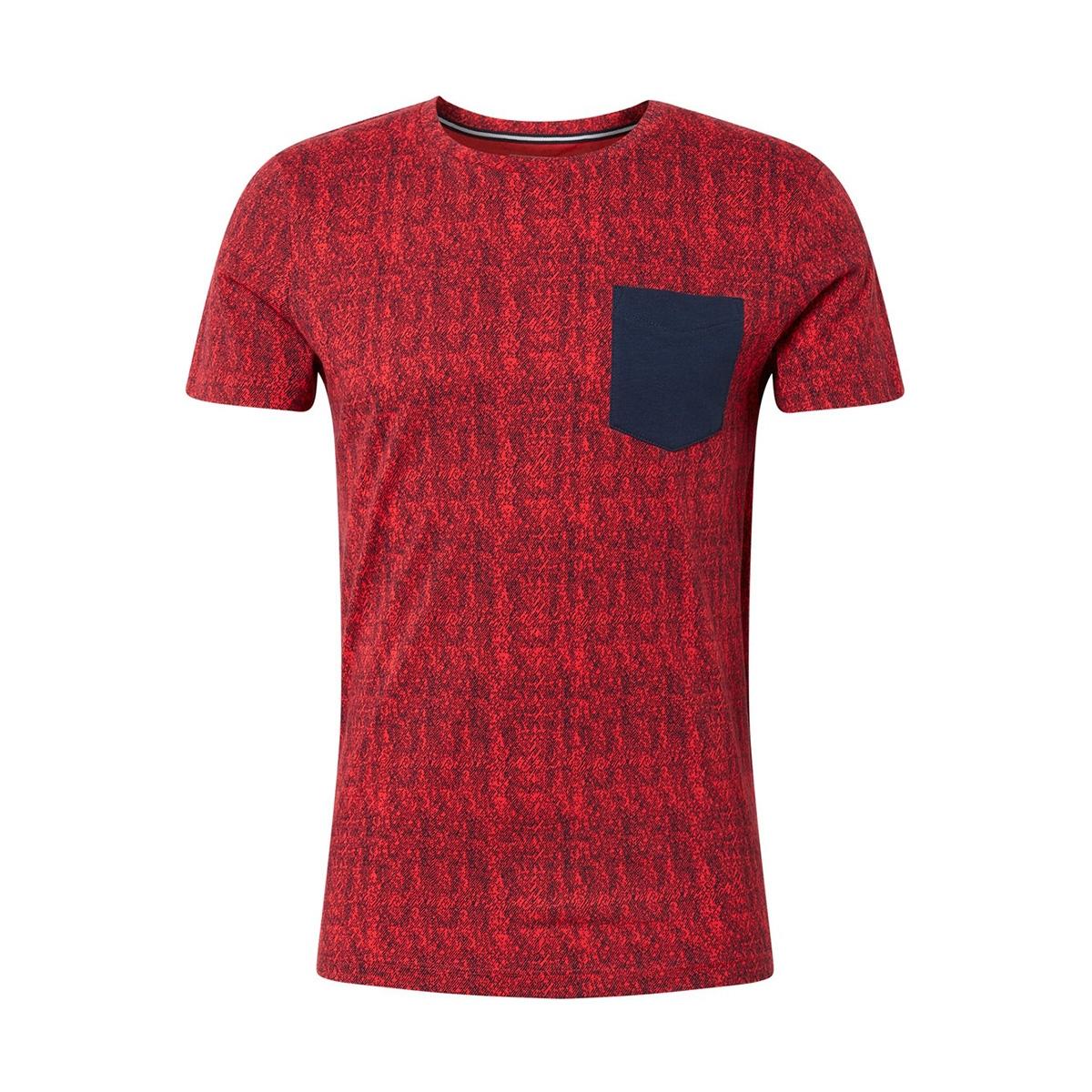 t shirt met borstzak 1013299xx12 tom tailor t-shirt 20434