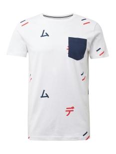 Tom Tailor T-shirt T SHIRT MET BORSTZAK 1013299XX12 19654