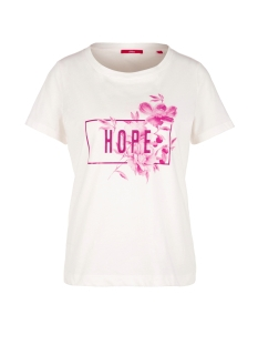 s.Oliver T-shirt JERSEY SHIRT MET PRINT OP VOORKANT 14908327587 02D2
