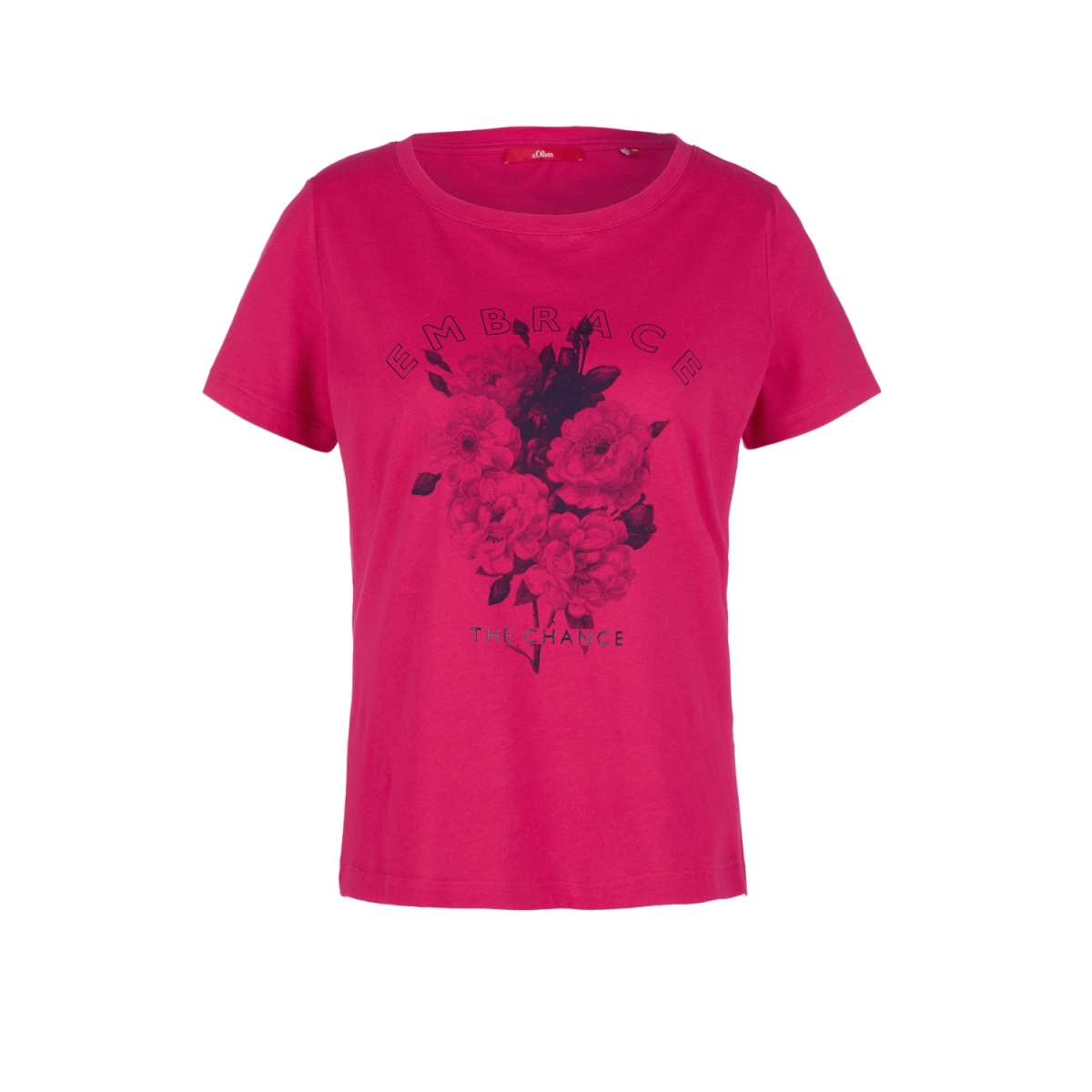 jersey shirt met print op voorkant 14908327587 s.oliver t-shirt 44d1