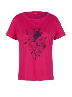 s.Oliver T-shirt JERSEY SHIRT MET PRINT OP VOORKANT 14908327587 44D1
