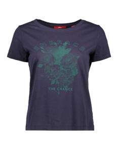 s.Oliver T-shirt JERSEY SHIRT MET PRINT OP VOORKANT 14908327587 59D1