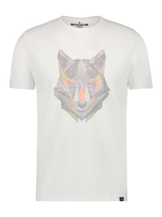 Haze & Finn T-shirt TEE HUSKY VINTAGE MU12 0007 OFF WHITE