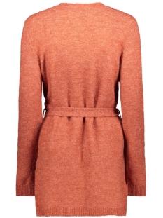 vivikka l/s knit belt cardigan 14054340 vila vest ketchup/melange