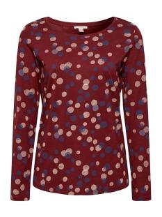 Esprit T-shirt LONGSLEEVE MET STRETCH 089EE1K026 E620