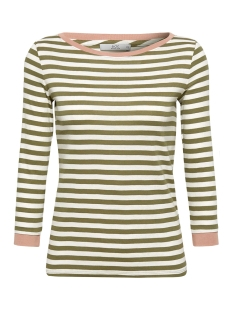 EDC T-shirt LONGSLEEVE MET CONTRASTERENDE DETAILS 089CC1K019 C350